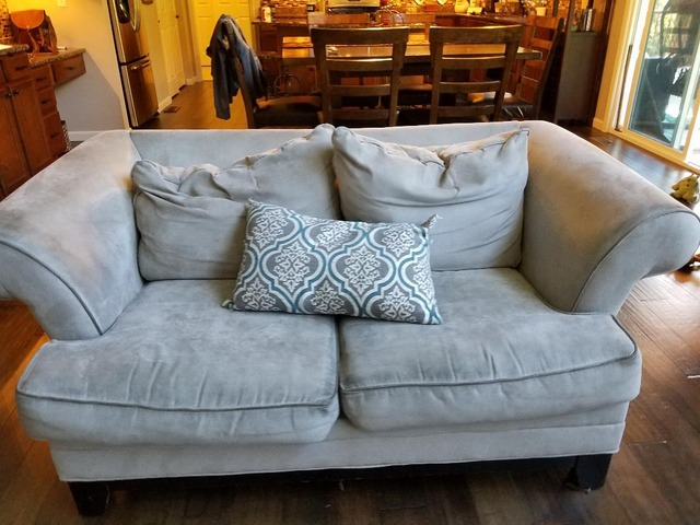 Awesome Couch Loveseat Reclincer In Fenton St Louis County Ibusinesslaw Wood Chair Design Ideas Ibusinesslaworg