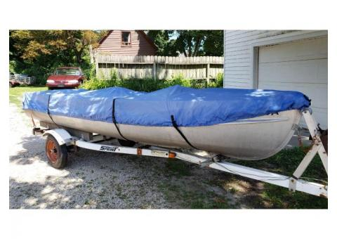 16' aluminum fishing boat